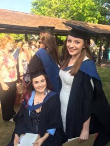 Graduation - Me and Abbie
